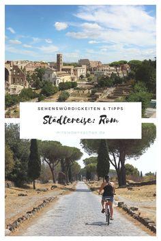 Städtetrip in Rom: Unsere Tipps und Sehenswürdigkeiten, Fahrrad fahren an der Via Appia Antica, das Pantheon, Kolosseum, Forum Romanum, Ostia Antica, Meer, Reisezeit, Restaurants in Rom, das beste Eis in Rom