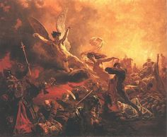 Mihály Zichy, The Triumph of the Genius of Destruction 1878