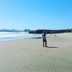 Santa Cruz CA: Jonnyboy at the beach by ryogto