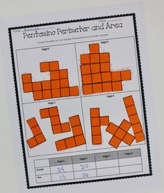 As in most math topics, I don't teach the formula for finding area and perimeter until my students have Education Quotes For Teachers, Quotes For Students, Finding Area, Maths Area, Area And Perimeter, 3rd Grade Math, Third Grade, Grade 3, Fourth Grade