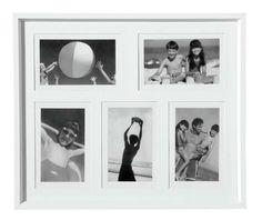 Okvira za 5 slika Simple White - Vivre