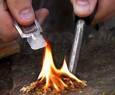 Emergency Whistle And Fire Starter