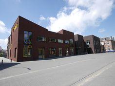 ontwerp meest energiezuinige  school van Nederland door Andre van de Ven Architecten