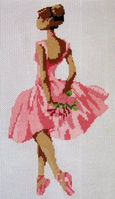 Cross stitch on Ebay. This would be cute in a little girls room.