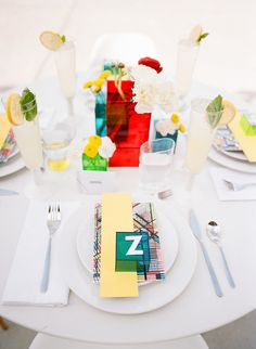 Edgy Wedding Shoot With Bold, Colorful Touches - Weddingomania Edgy Wedding, Wedding Shoot, Wedding Colors, Wedding Dresses, Wedding Table Decorations, Wedding Centerpieces, Wedding Tables, Nashville, Modern Wedding Inspiration