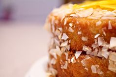 Cuban Mango Cake with Coconut and a review of A World Of Cakes   The Spiced Life