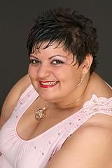 Plus Size Short Hairstyles for Women Over 50 | plus size hair model