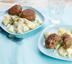 Bulette mit Kartoffelsalat