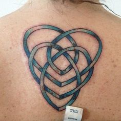 Celtic motherhood knot tattoo
