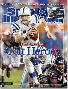 February 12, 2007 - The Indianapolis Colts, Superbowl XLI Champions.