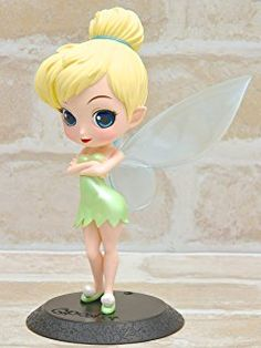 Q Posket Disney Characters – Tinker Bell – Tinkerbell Normal Color Ver Fimo Disney, Polymer Clay Disney, Polymer Clay Figures, Cute Polymer Clay, Disney Dolls, Cute Disney, Disney Art, Disney Pixar, Disney Characters