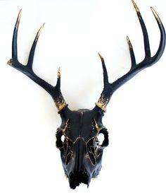 Resultado de imagen de stag skull