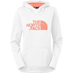 TNF White/Electro Coral Orange