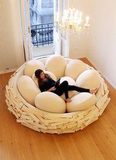 Bird's Nest Bed - Planet Daze