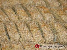 Τέλεια παξιμάδια κανέλας φωτογραφία βήματος 4 Banana Bread, Biscuits, Snacks, Cookies, Desserts, Recipes, Food, Crack Crackers, Crack Crackers