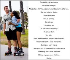 brought to you by in the name of all things awkward e. first dates where you go Inline Skating, Very Bad, First Dates, Call Her, Awkward, Skate, Stuff To Do, Bring It On
