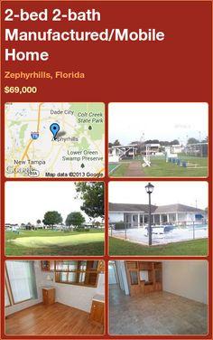 2-bed 2-bath Manufactured/Mobile Home in Zephyrhills, Florida ►$69,000 #PropertyForSale #RealEstate #Florida http://florida-magic.com/properties/6872-manufactured-mobile-home-for-sale-in-zephyrhills-florida-with-2-bedroom-2-bathroom