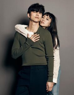 A Man and A Woman  02.2016  ❤❤  공유 Gong Yoo ♡♡  Life was its usual and then there's Yoo..