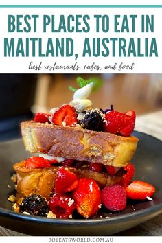 Are you looking for great places to eat in Maitland, Australia? Here's a tasty list of the best restaurants in Maitland, including cafes and what to eat! I Maitland restaurants I Australia restaurants I where to eat in Australia I cafes in Maitland I food in Australia I #Australia #Maitland #foodguide Australia Destinations, Australia Travel Guide, Restaurant Guide, Best Places To Eat, World Recipes, Foodie Travel, Street Food, Food Inspiration, Restaurants