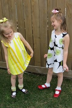 These girls are ready for a party in their Marimekko jumper dresses.  $42