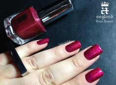 Rose Bower. Fashion Polish: A England Burne-Jones Dream Collection Review