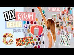 DIY Jeans / Pantalones - 50 ideas para renovar tus jeans de forma rápida y barata (GUÍA DE ESTILO) - YouTube Diy Pared, Diy Originales, Decorate Your Room, Diy Room Decor, Ideas Para, Tours, Youtube, Crochet, Repeat