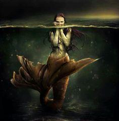#dark #mermaid