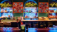 A New Adults-Only Arcade Bar from the Holey Moley Team Has Just Opened In Fortitude Valley - Concrete Playground Melbourne Bars, Melbourne Restaurants, Brunswick Street, Coffee Wine, St Kilda, Snack Bar, Bubble Tea, Cool Bars, Beach Hotels