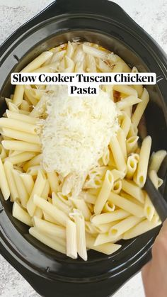 Crockpot Dishes, Crock Pot Slow Cooker, Crock Pot Cooking, Slow Cooker Recipes, Cooking Recipes, Healthy Recipes, Crockpot Recipes Pasta, Crock Pot Pasta, Easy Crockpot Meals