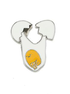 Gudetama Drop Enamel Pin, , hi-res