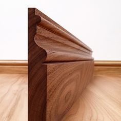 Victoriana Black Walnut Skirting Board