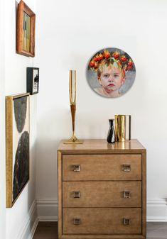 'Apple Halo Portrait' by Jasmine Middlebrook Dresser As Nightstand, Jasmine, Halo, Inspire, Apple, Portrait, Medium, Gallery, Board