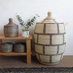 Shop Home Decor Items Online - Affordable African Decorative Items Home Decor Items Online, Brick Patterns, Large Baskets, Laundry Hamper, Recycled Materials, Home Decor Accessories, Boho Decor, Decorative Items, Living Room Decor
