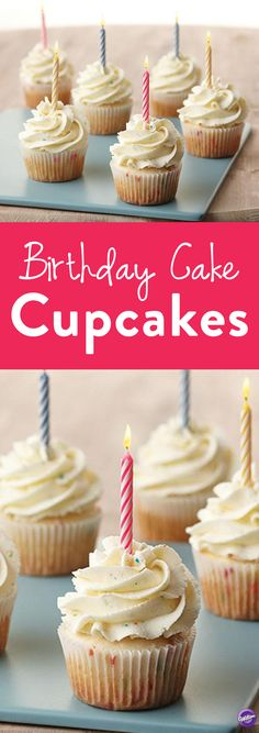 How to Make Birthday Cake Cupcakes - The delectable flavor can be tasted in both the cupcakes and the delicious buttercream icing. Plus, birthday parties are so much easier with cupcakes for each guest! Makes 24 cupcakes.