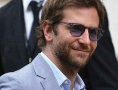b73bec7f6f04 Bradley Cooper challenges any dapper Parisian fashionista in lilac-tinted  Legend eyewear from Allyn Scura.