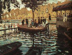 Claude Monet - La Grenouillière - 1869
