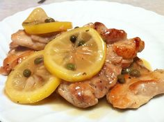 LOVE ME SOME ROCCO (and chicken piccata)!!! Easy Sunday supper: Rocco DiSpirito's Chicken Piccata