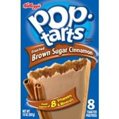 Brown Sugar Cinnamon Pop-Tarts.