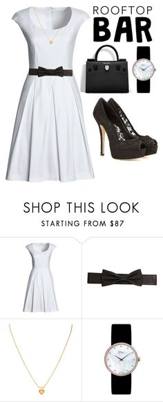 """""""SUMMER DATE : ROOFTOP BAR"""" by zgracia ❤ liked on Polyvore featuring Canvas by Lands' End, Lowie, Christian Dior, Dolce&Gabbana, summerdate and rooftopbar"""