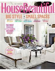 House Beautiful Magazine July / August 2012