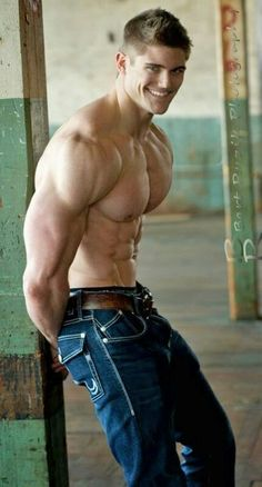 Aesthetic MuscleS - Bodybuilding at its Best: David Brody Six Pack Men, Muscular Men, Shirtless Men, Male Form, Male Physique, Sexy Jeans, Man Photo, Male Beauty, Perfect Man