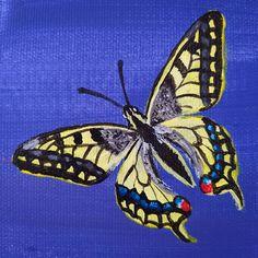 """123 kedvelés, 0 hozzászólás – Horváth Kincső Art (@horvathkincso_art) Instagram-hozzászólása: """"Egy részlet a készülő festményről. 🥰🦋 #fecskefarkúlepke #contemporarypainting #acrylicpainting…"""" Moth, Insects, Animals, Instagram, Animales, Animaux, Animal, Animais"""