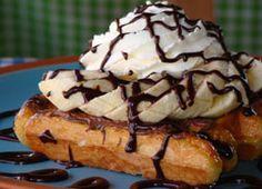 Nutella Banana Liege Waffle