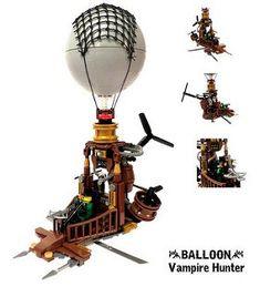 """""""Airship, Airship, AIRSHIP!""""   The Brothers Brick   LEGO Blog"""