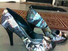 Anita Blake comic heels? WANT WANT WANT.  #Pumps #AnitaBlake #Fashion