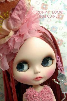 BUBUJOJO custom blythe Poppy Love | Flickr - Photo Sharing!
