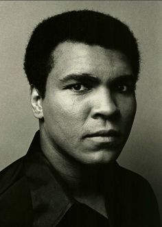 Ali. Muhammad Ali Boxing, Boxing Champions, Hometown Heroes, Ali Quotes, Mike Tyson, Black Pride, Black And White Portraits, African American History, Bruce Lee