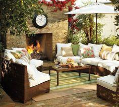 Muebles. Diseño de interiores. Дизайн интерьера: Vida al aire libre. Patio