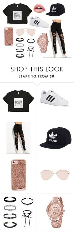 """""""Untitled #1"""" by algomez1120 ❤ liked on Polyvore featuring adidas, Case-Mate and Steve Madden"""