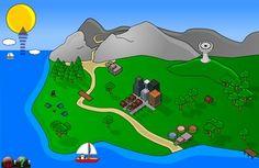 GCompris est un logiciel éducatif qui propose des activités variées aux enfants de 2 à 10 ans. (maths, sciences, géographie, ...) Educational Software, Great Websites, Water Cycle, Nature Study, Life Skills, Science Nature, Kids Playing, Activities For Kids, Technology